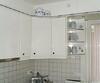 Küche, Oberschrank mit Ecklösung